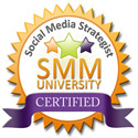 Social Media Strategist Certification by SMM University