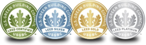 US Green Building Council (USGBC) shields
